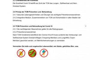 Coronavirus TCM Empfehlung 2