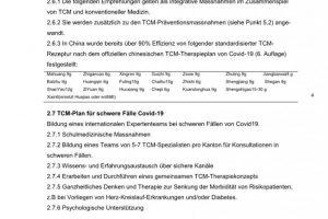 Coronavirus TCM Empfehlung 4